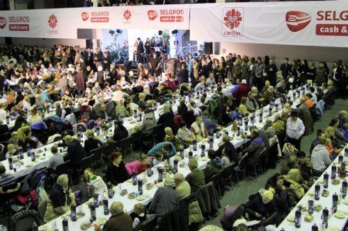 Selgros fundatorem Wigilii Caritas dla niemal 10 tys. osób
