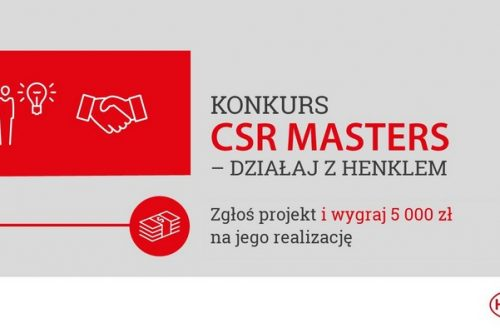 CSR Masters – działaj z Henklem