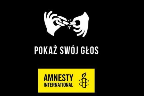 """""""Pokaż swój głos""""- nowa kampania Amnesty International"""