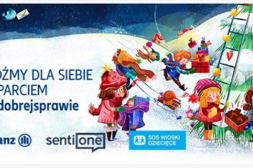 Allianz Polska #wdobrejsprawie na rzecz SOS Wioski Dziecięce
