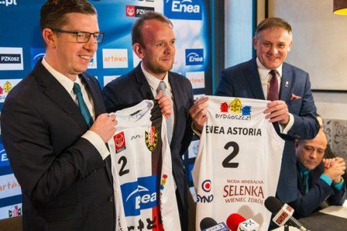 Astoria Bydgoszcz kolejny rok walczyć będzie o sukcesy z energią od Enei