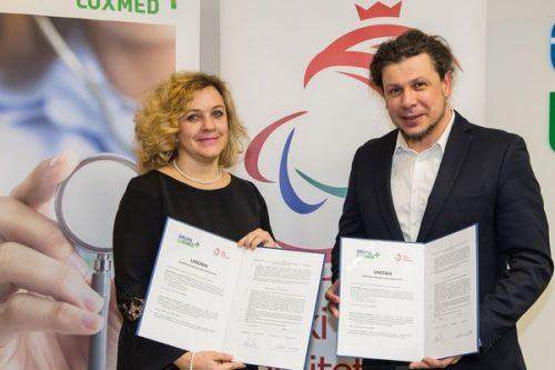 LUX MED został Głównym Partnerem Medycznym Polskiego Komitetu Paraolimpijskiego