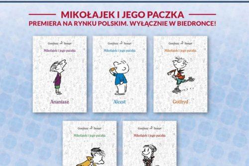 """""""Mikołajek i jego paczka"""" – premiera  pięciu książek serii wyłącznie w Biedronce"""