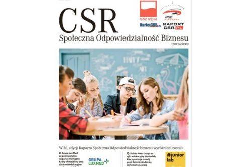 Wyróżnienia Raportu CSR przyznane po raz 36