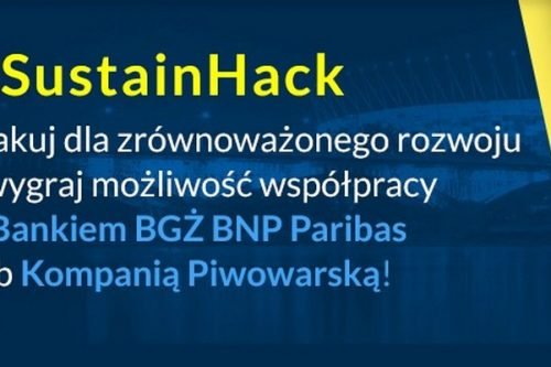 #SustainHack – CSRowy Hackathon z Bankiem BGŻ BNP Paribas przeciw wykluczeniu społecznemu