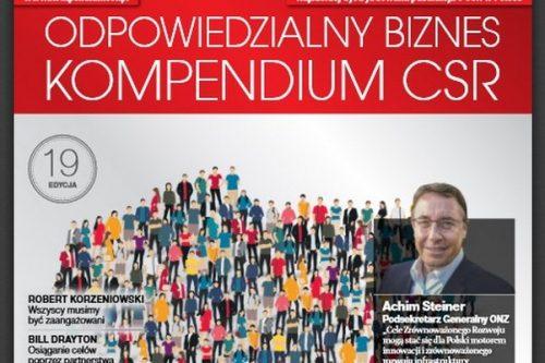 """19. wydanie Kompendium CSR z """"Rzeczpospolitą"""""""