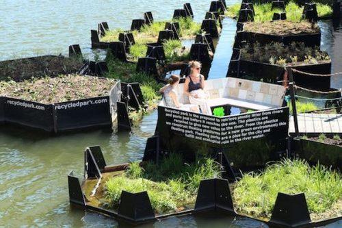 Fundacja Audi ds. ochrony środowiska przekształca plastikowe odpady w tereny rekreacyjne
