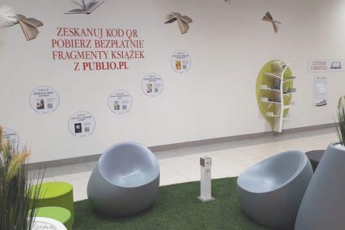 Galeria Zielone Wzgórze promuje czytelnictwo