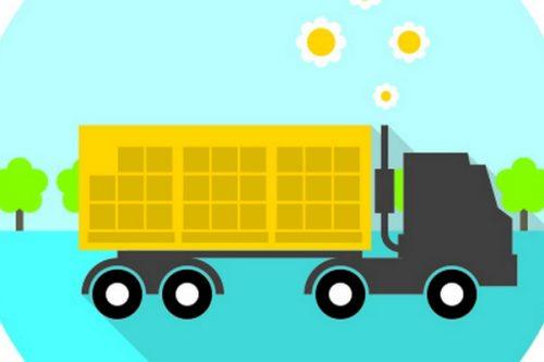 Ciężarówki Carrefour Polska jeżdżą mniej