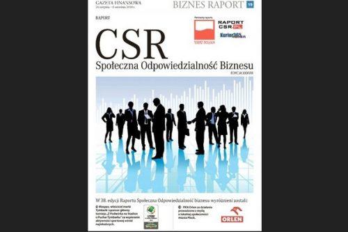 38. edycja wyróżnień Raportu CSR