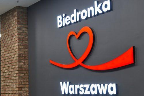 Nowa, szczególna Biedronka w blasku dawnej Warszawy