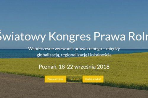 Poznań stolicą prawa rolnego