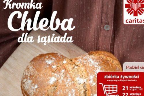 Podziel się  kromką chleba w Biedronce