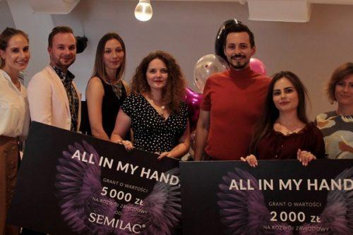 Finał CSR-owej kampanii All In My Hands