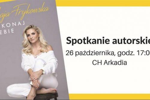 """Premiera autobiografii Mai Frykowskiej """"Pokonaj siebie"""""""