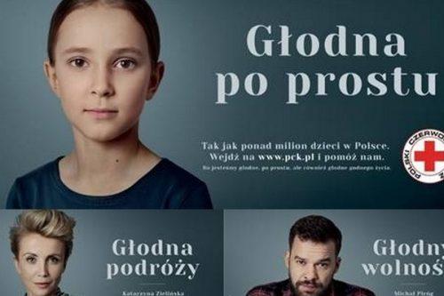 #głodni pomagania – Polski Czerwony Krzyż opowiada o kampanii dotyczącej niedożywienia z udziałem gwiazd