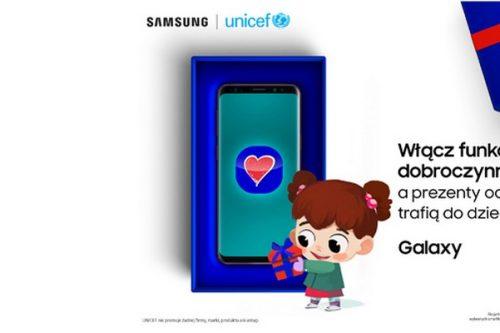 Smartfony Samsung z #FunkcjąDobroczynności