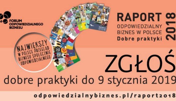 """Ruszył nabór praktyk do raportu """"Odpowiedzialny biznes w Polsce. Dobre praktyki"""""""