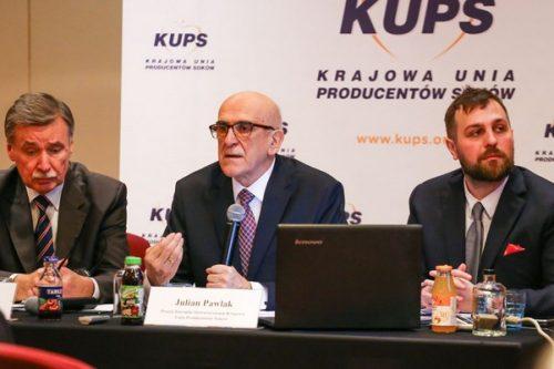 Komentarz Prezes Zarządu KUPS do informacji o projekcie podniesienia stawki VAT dla nektarów i napojów