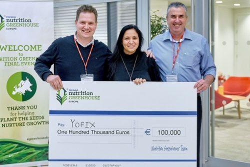 100 000 euro dla Yofix w europejskiej edycji programu Nutrition Greenhouse