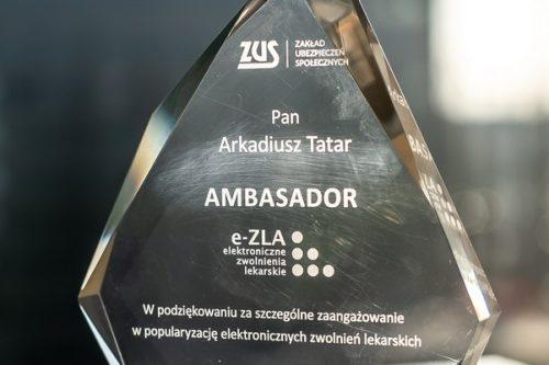 Ambasador e-ZLA w Grupie LUX MED