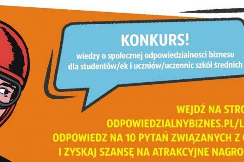 Rusza Ogólnopolski konkurs wiedzy o CSR