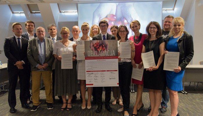 Polska Koalicja ds. Zrównoważonego Oleju Palmowego podpisanie deklaracji