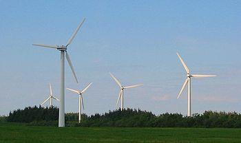 elektrownia wiatrowa wiatraki