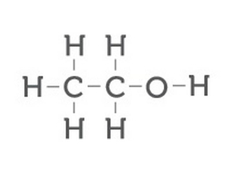 wzór chemiczny alkoholu