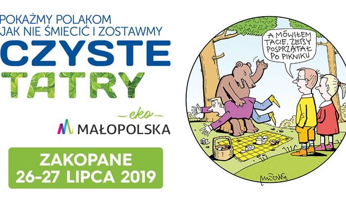banner Czyste Tatry ekoMałopolska